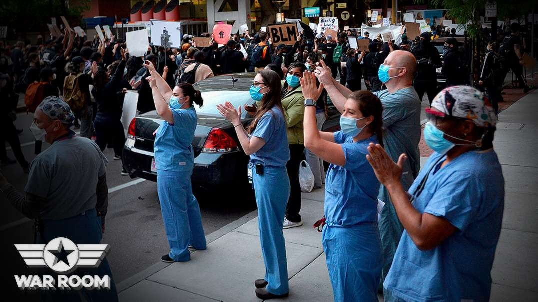 Nurses Caught Intentionally Spreading Coronavirus During Floyd Protests