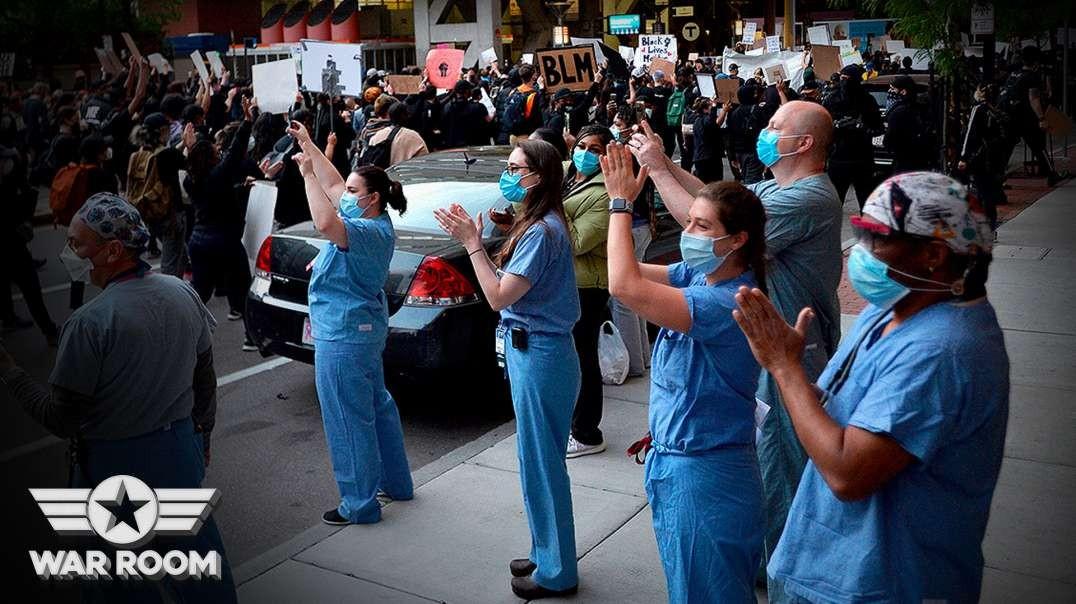 Nurses Caught Intentionally Spreading Coronavirus During Floyd Protests