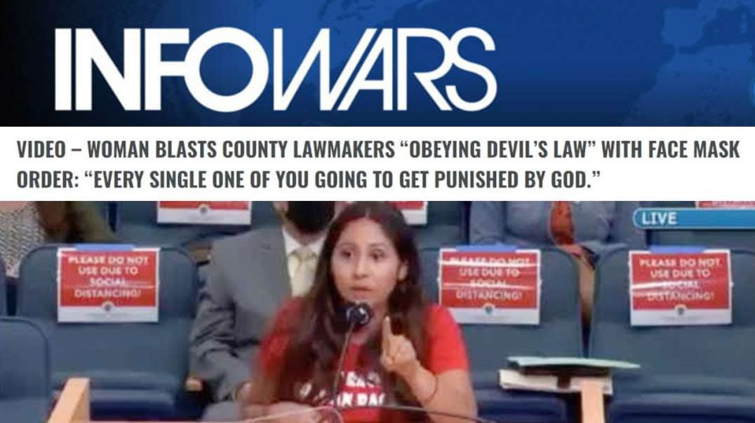 See The Uncut Video of Woman Who Blasted Lawmakers for 'Obeying Devil's Law'
