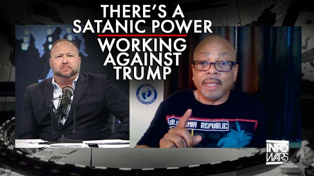 Rev. Clenard Childress: There Is A Satanic Power Working Against Trump