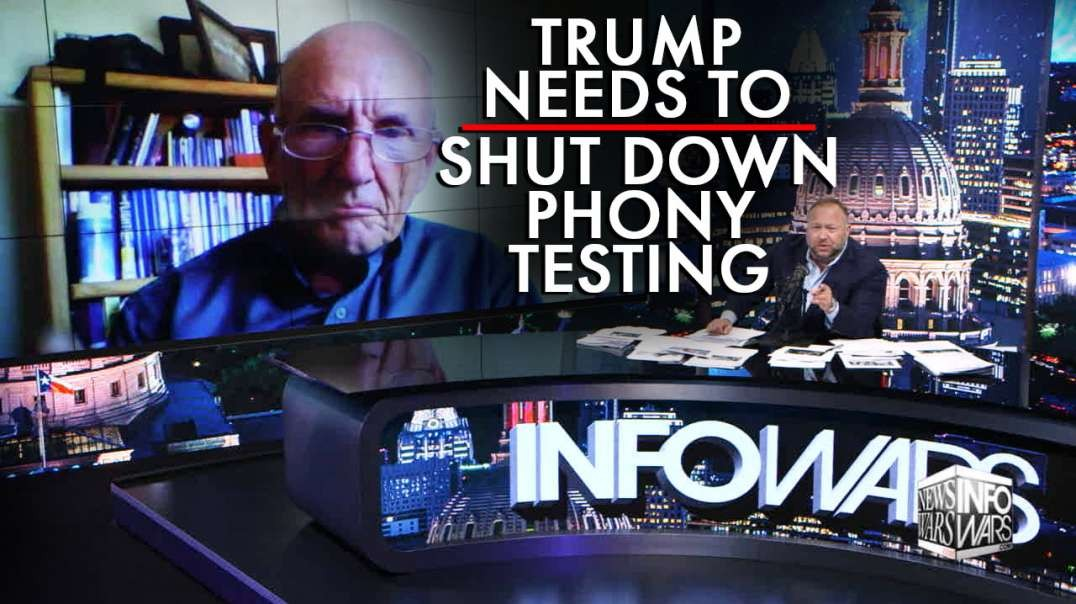 Joel Skousen: Trump Needs to Shut Down Phony Pandemic Testing