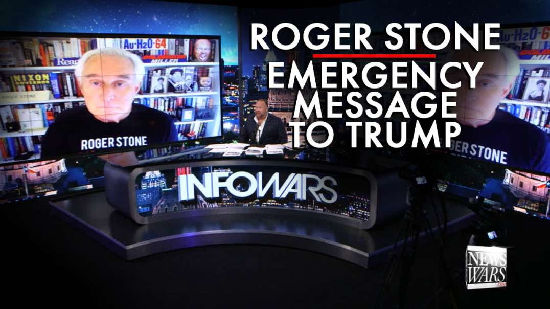 Roger Stone Issues New Emergency Message To Trump