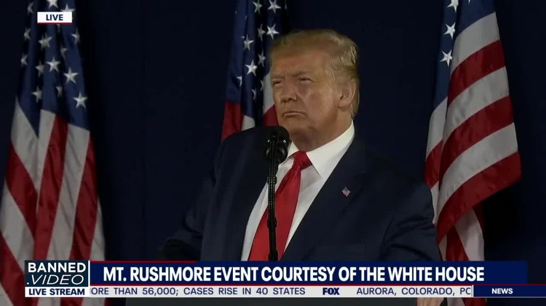 President Trump Delivers Amazing Independence Day Speech At Mount Rushmore