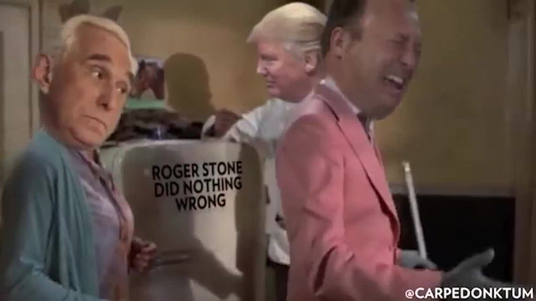Congratulations Roger Stone!