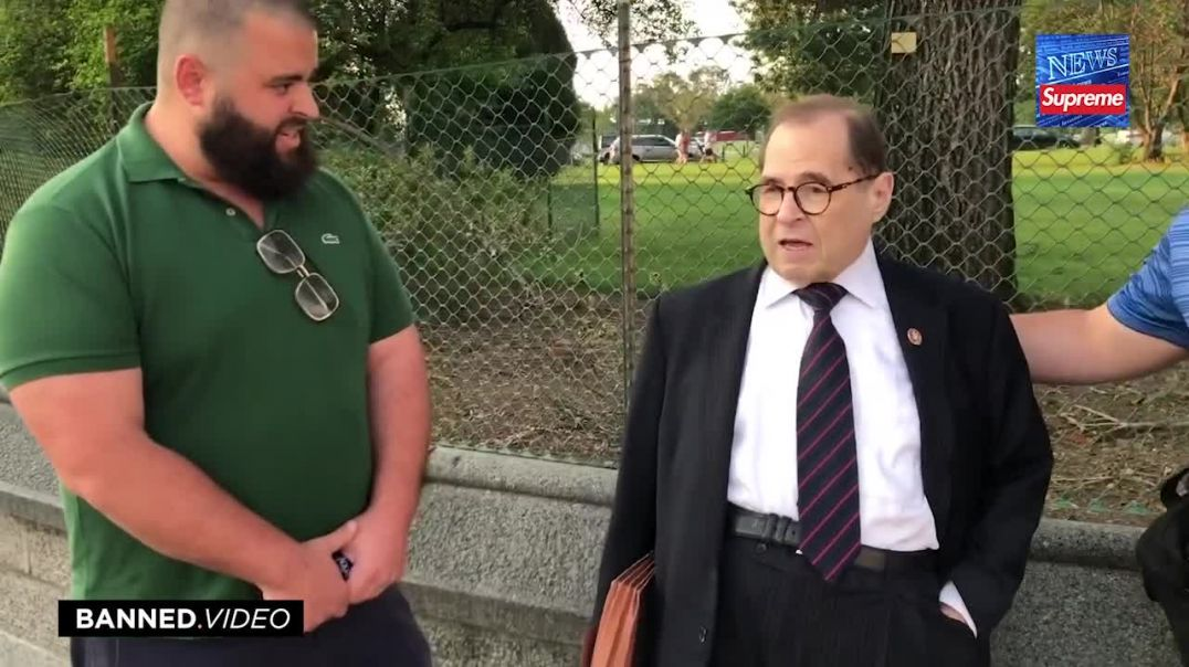 Congressman Nadler Confronted With Reality Of ANTIFA Violence