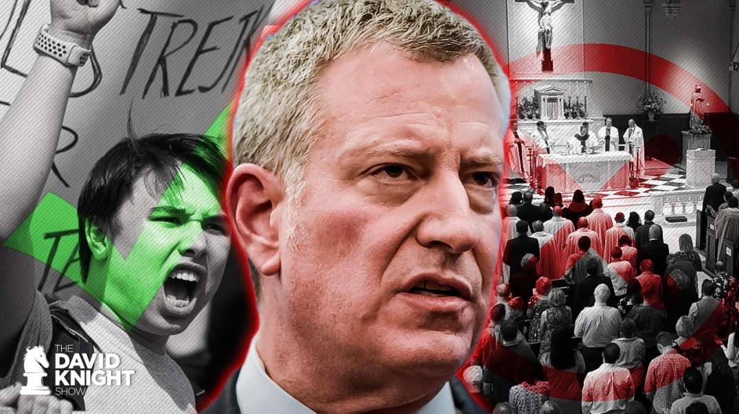 "DeBlasio: Protests Have ""Profound Meaning"", Religious Services Not So Much"