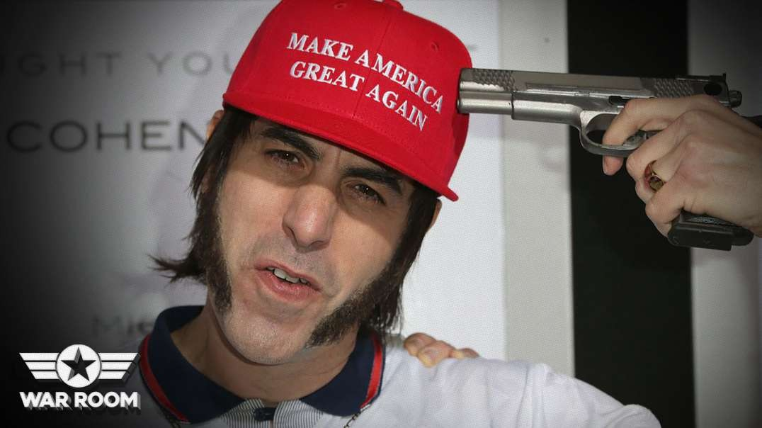 Exclusive! Hear From Activist Behind Event Crashed By Sacha Baron Cohen