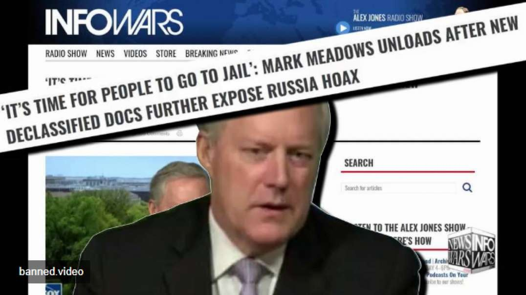 Mark Meadows Says It's Time For People To Go To Jail For Russia Hoax