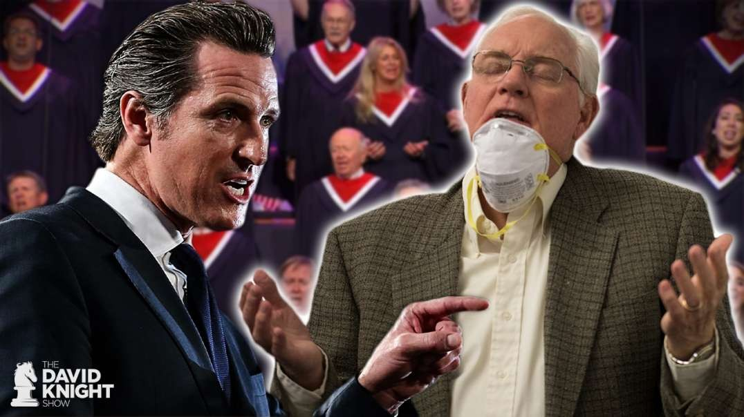 Christians: California Bans Singing in Church - Even With Masks & Social Distancing