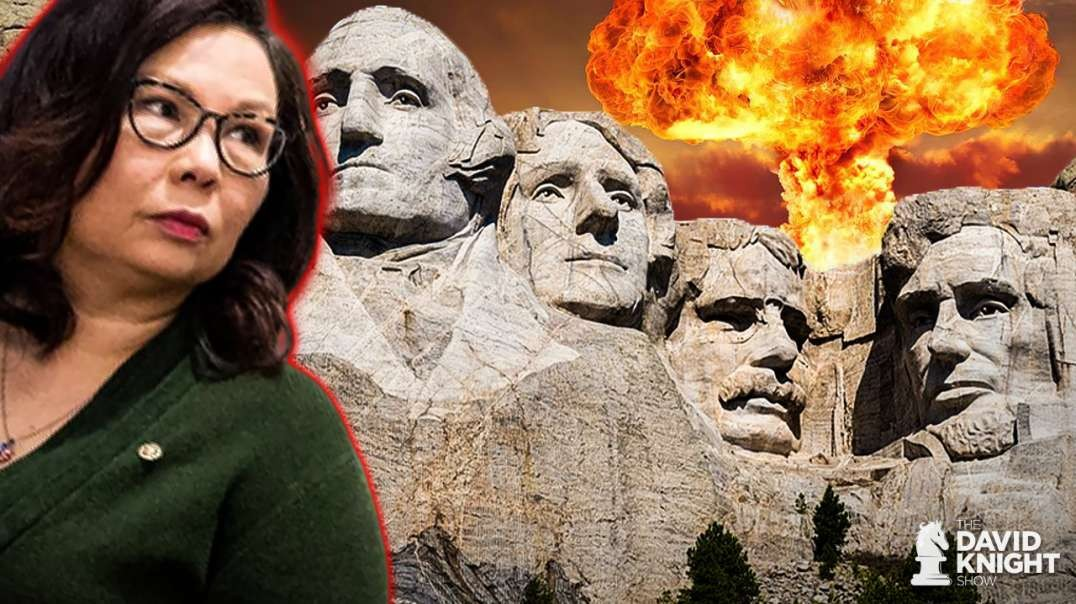Duckworth Campaigns for VP by Attacking Rushmore