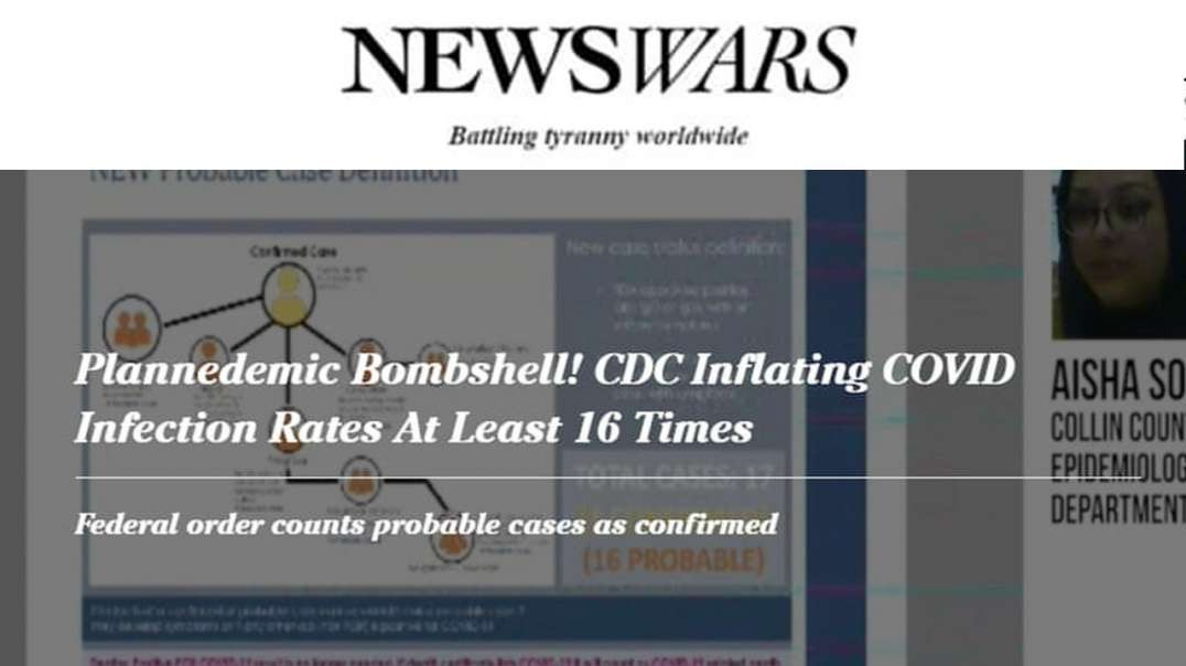 Covid-19 Hoax Implodes! Texas Exposes NIH/CDC Artificially Inflating Numbers
