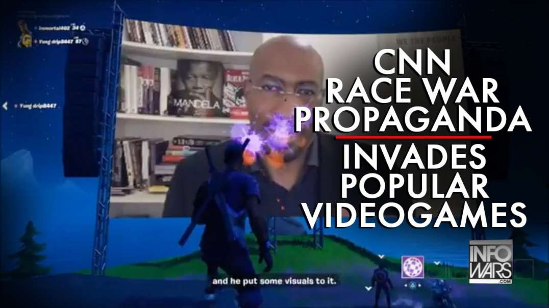 CNN Race War Propaganda Invades Popular Videogames