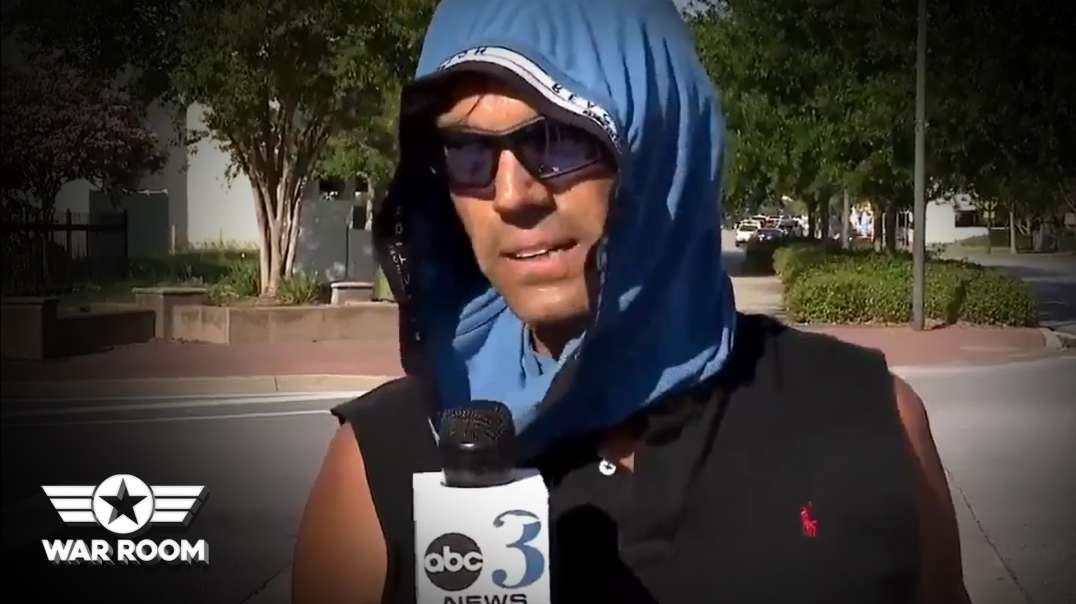 Man Trolls NBC News While Wearing Underwear On Head To Fight COVID