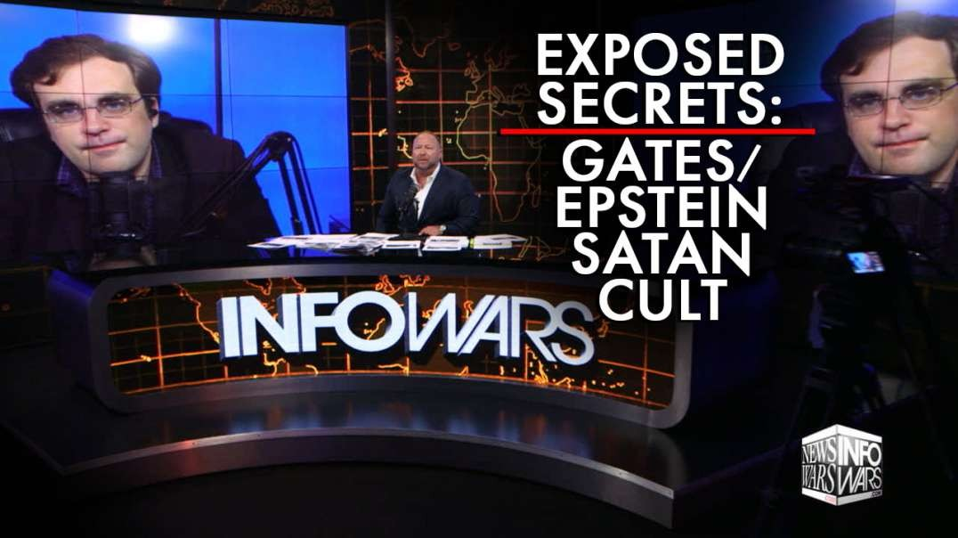 Investigative Journalist Exposes Secrets of Gates/Epstein Satan Cult