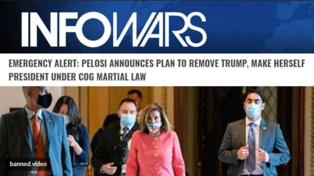 Dems Announce Illegal Plan To Forcefully Remove Trump From Office And Martial Law