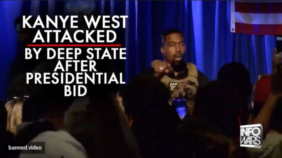 Kanye West Attacked By Deep State After Announcing Presidential Bid