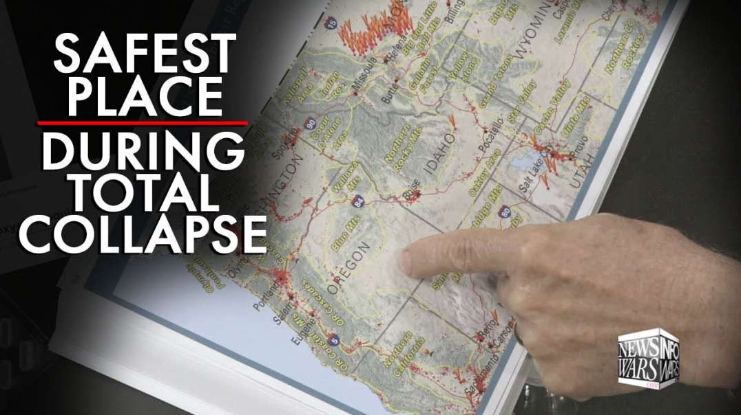 During A Total Collapse, Learn the Safest Places to Live in North America