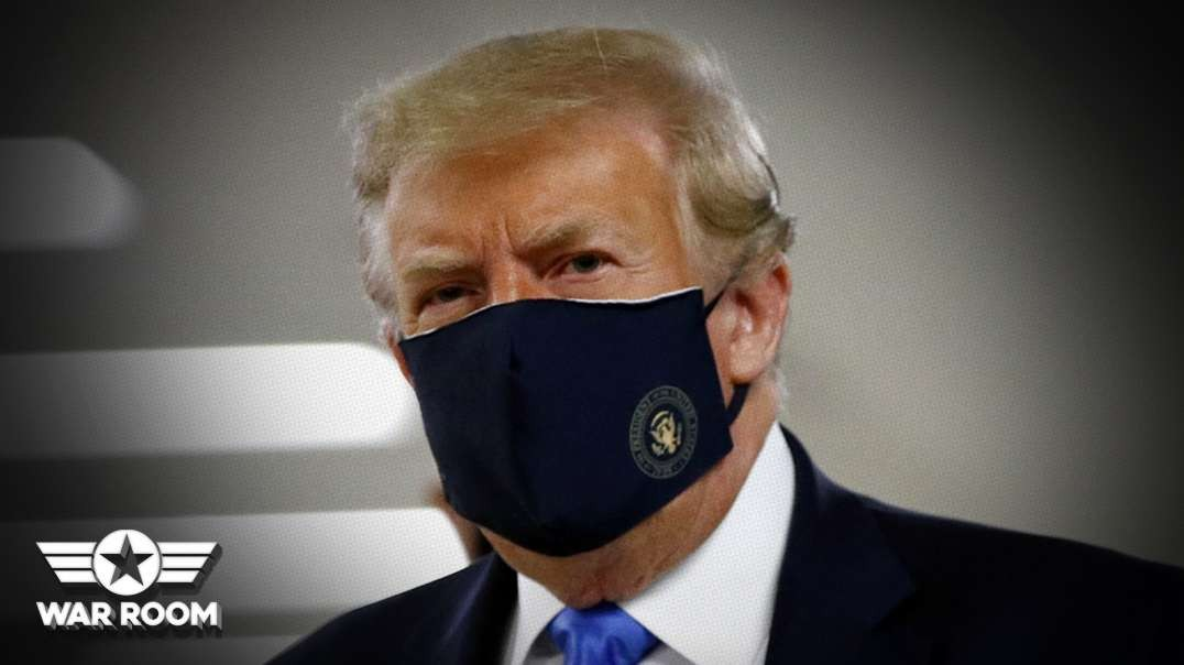 They Got Him: Deep State Celebrates Getting Trump To Wear A Mask