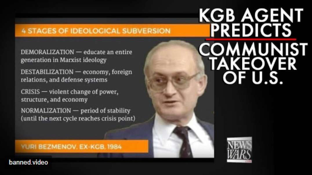 Russian KGB Agent Predicts Communist Takeover Of America In 1984