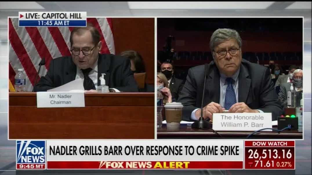 AG Barr Responds to Trump Planning Martial Law