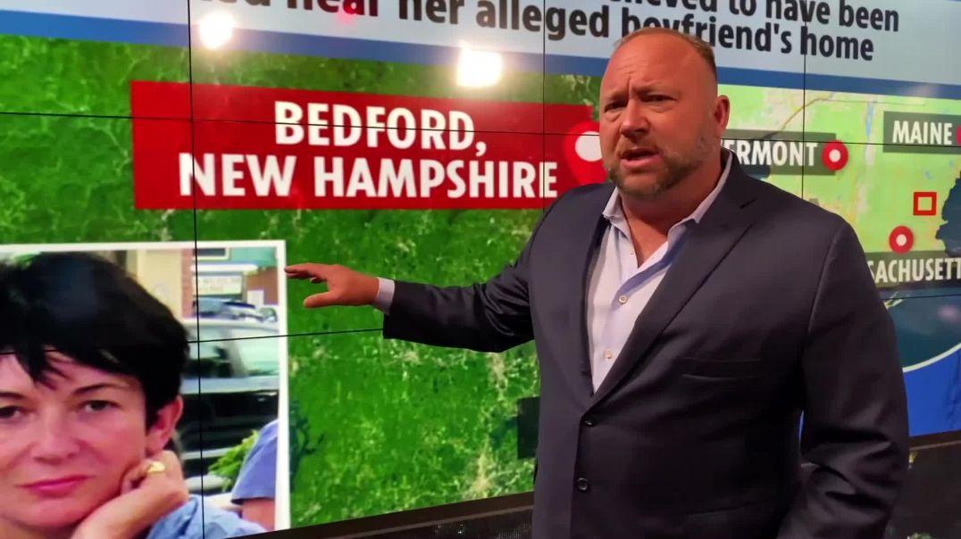 Deep State Jeffrey Epstein Agent Ghislaine Maxwell ARRESTED!