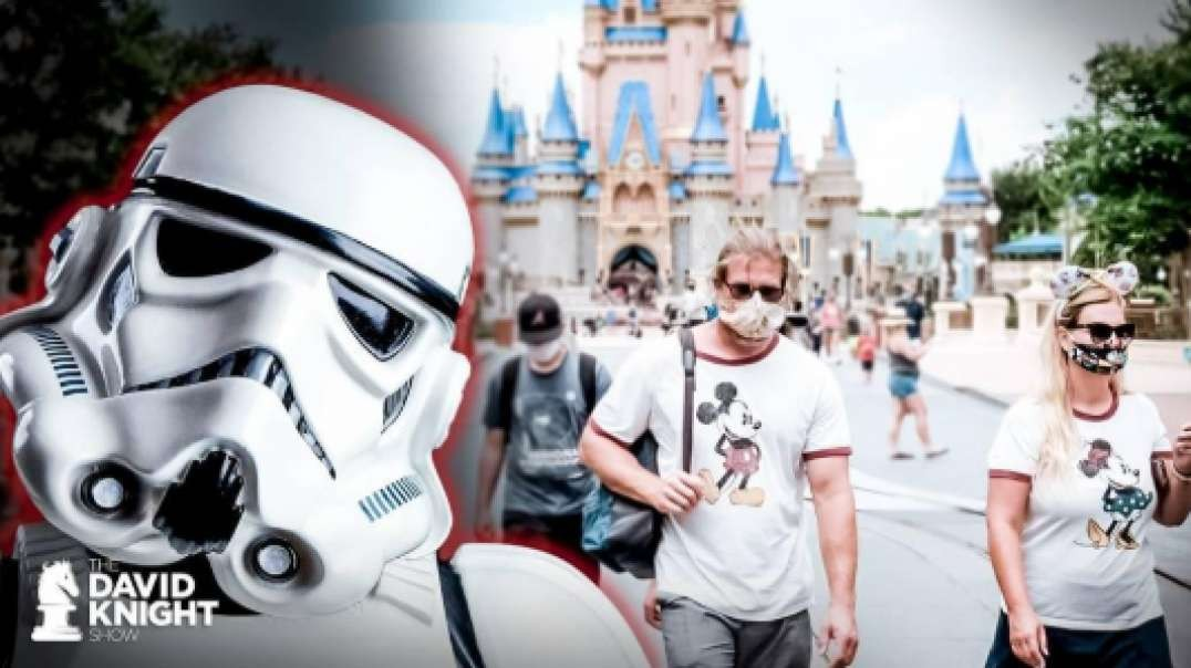 Disney World Opens: Literal STORMTROOPERS Harass Tourists Over COVID