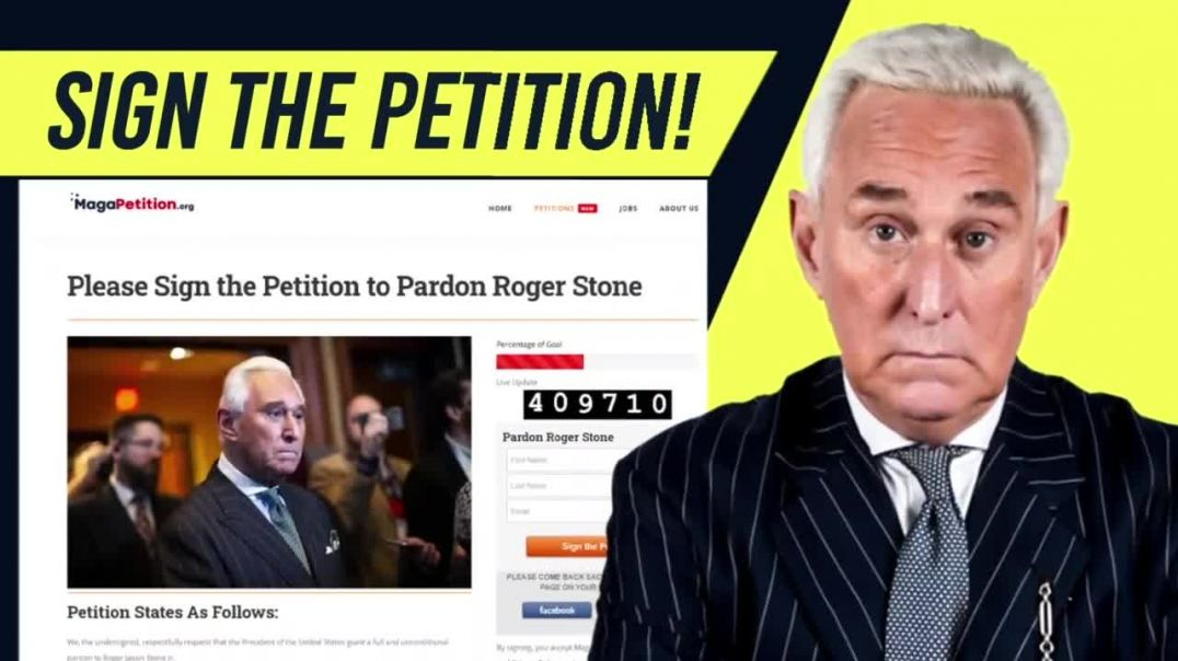 Roger Stone's Wife Pleads With President Trump To Pardon Him