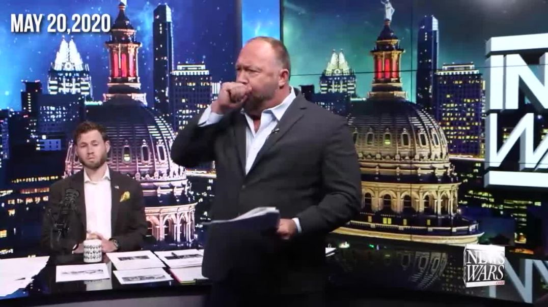 Flashback: Alex Jones Covered DNA Altering COVID-19 Vaccine Months Ago