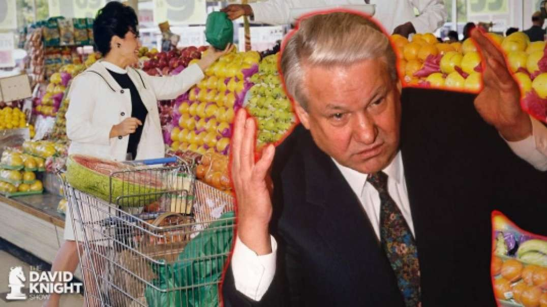 Back to the Future: Boris Yeltsin's Grocery Store Visit
