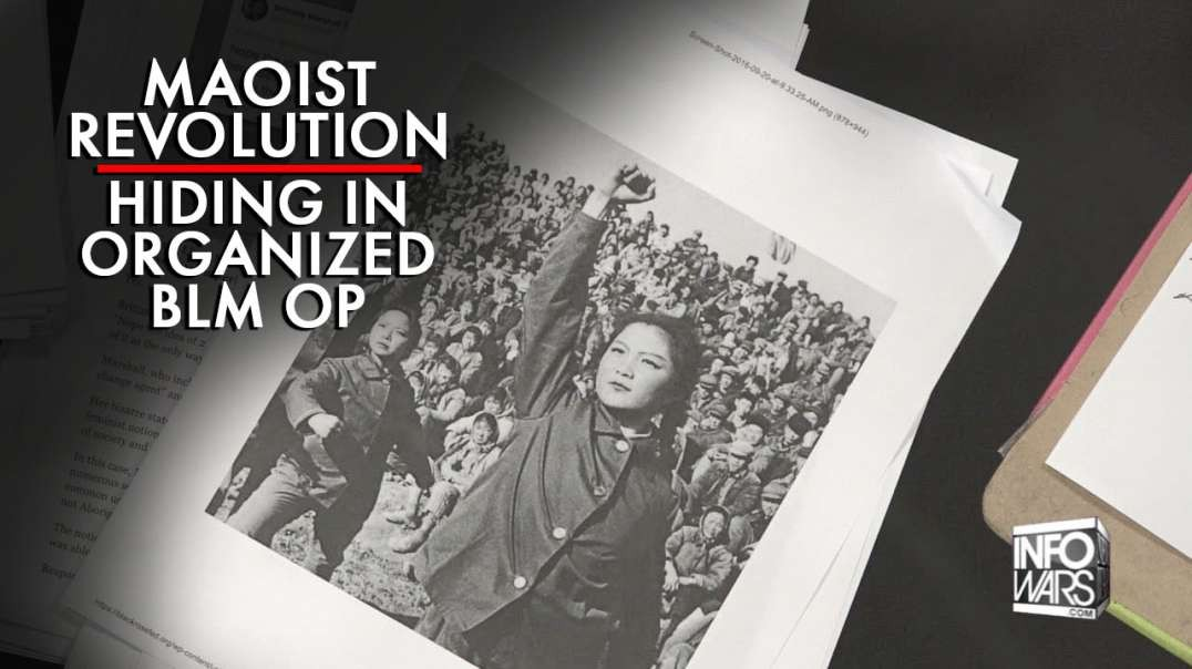 The Maoist Revolution Hiding in Organized BLM Operation Exposed
