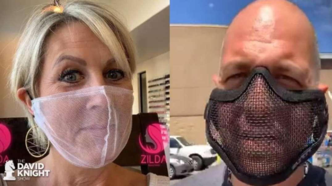 Mesh Masks Mocking the System