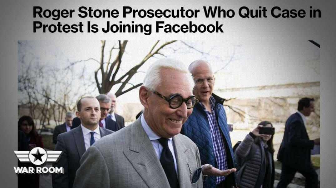 Facebook Hires Corrupt Prosecutor From Roger Stone Trial