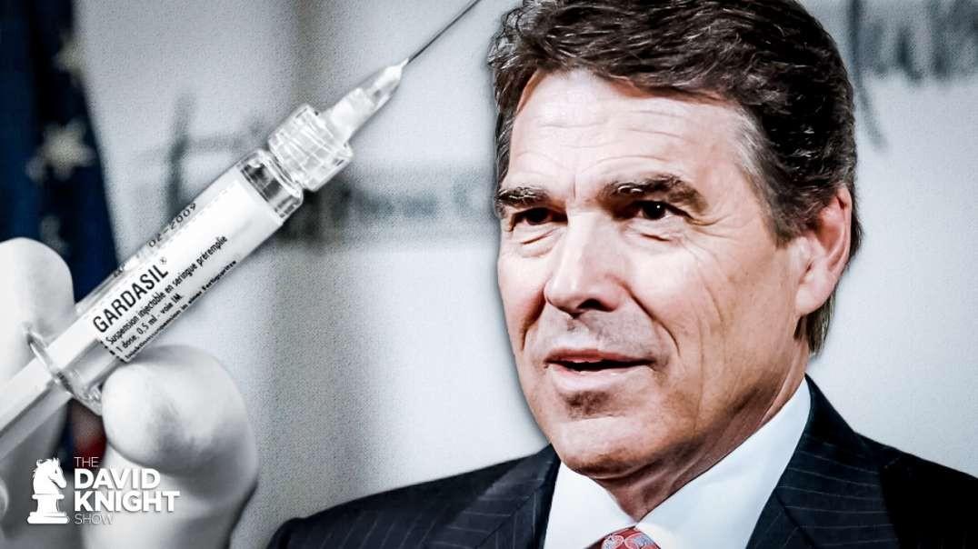 Texans Pushed Back on Rick Perry's Gardasil