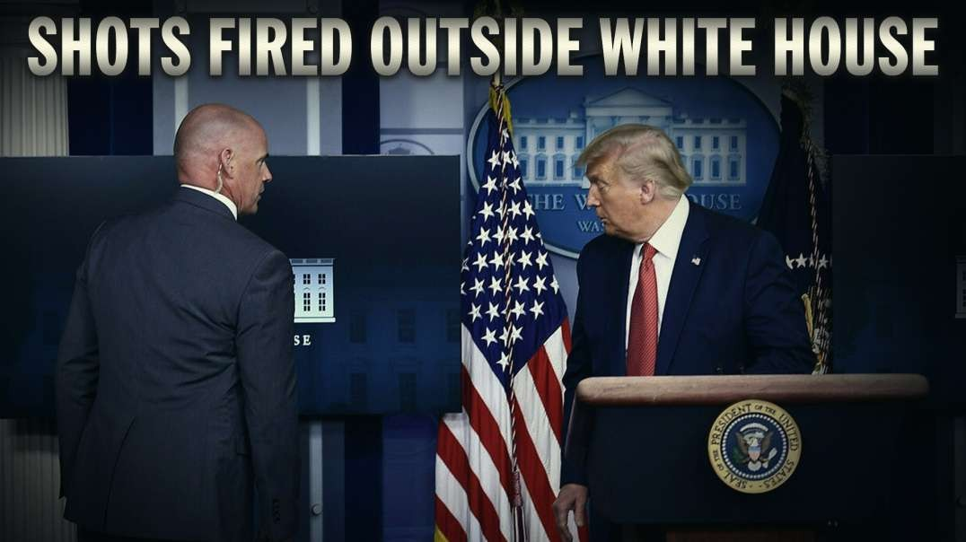 Trump Escorted From Podium After Shots Fired Outside White House