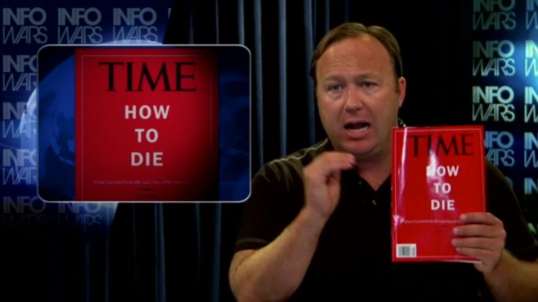 Alex Jones Predicts Globalists' Culling Of The Elderly