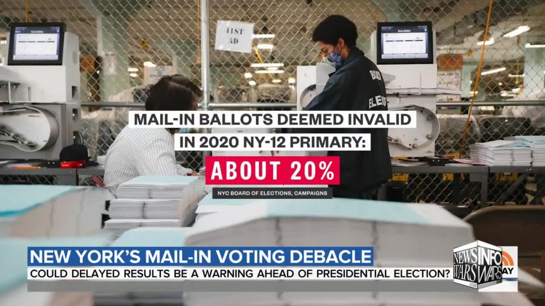Postal Worker Raises Alarm On How Mail-In-Voting Will Be Used To Steal Election