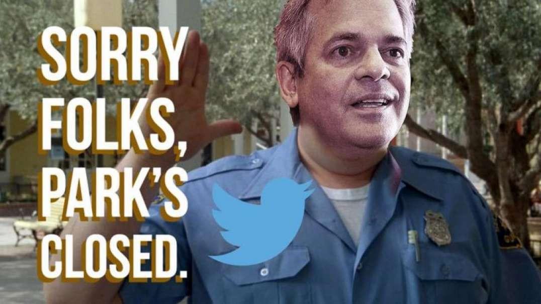 Number One On Twitter! Alex Jones Exposes Illegal Park Closures