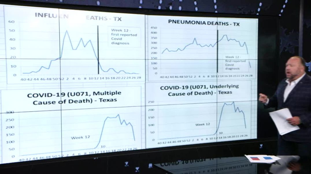 See The Graphs Proving Covid Numbers Hoax