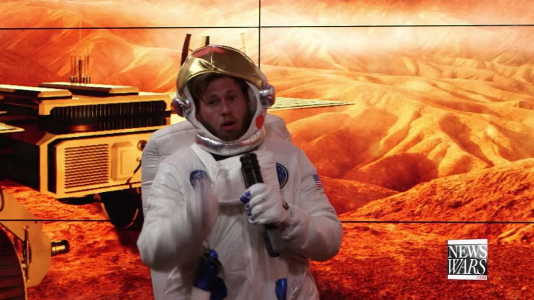 Owen Shroyer Goes To Mars!