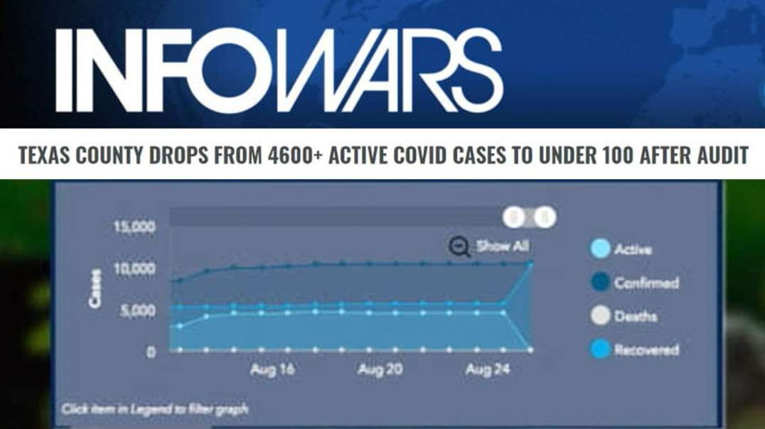 98% Fake Covid Cases Exposed in Texas County Audit