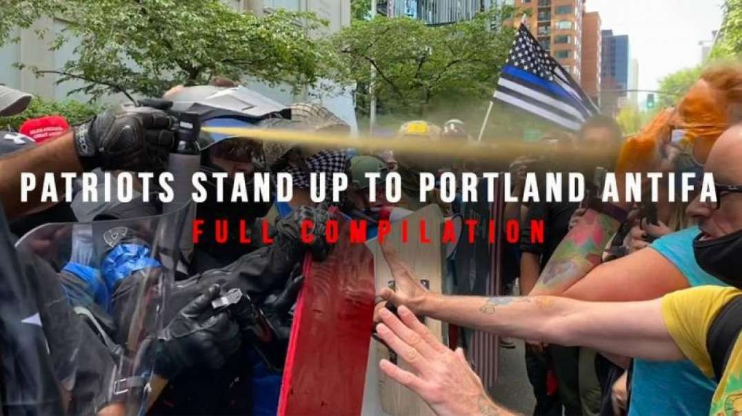 Patriots Stand Up To Portland ANTIFA
