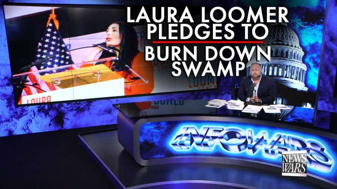 "Laura Loomer Pledges to ""Burn Down Swamp"" in First Primary Victory, Must Watch!"