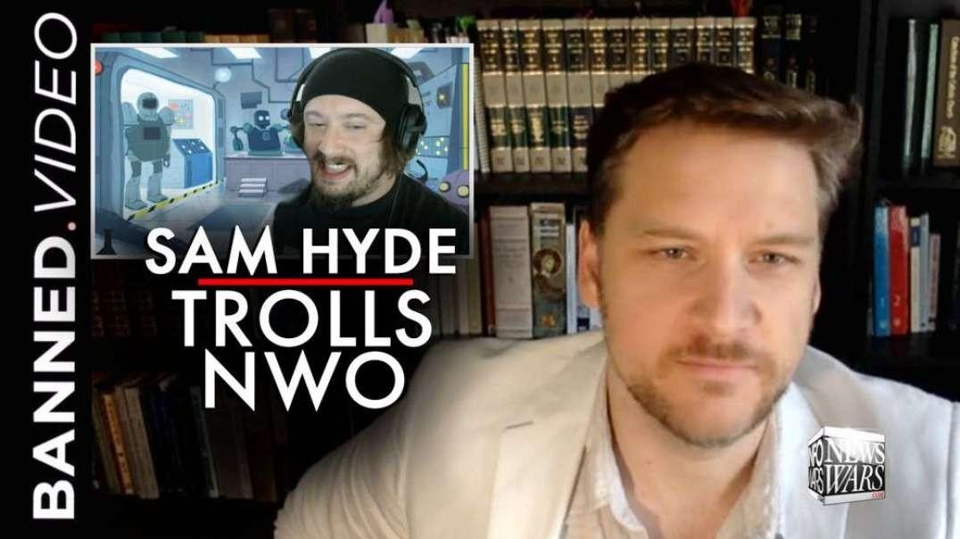 Megatroll Sam Hyde Joins Infowars & Things Got Crazy