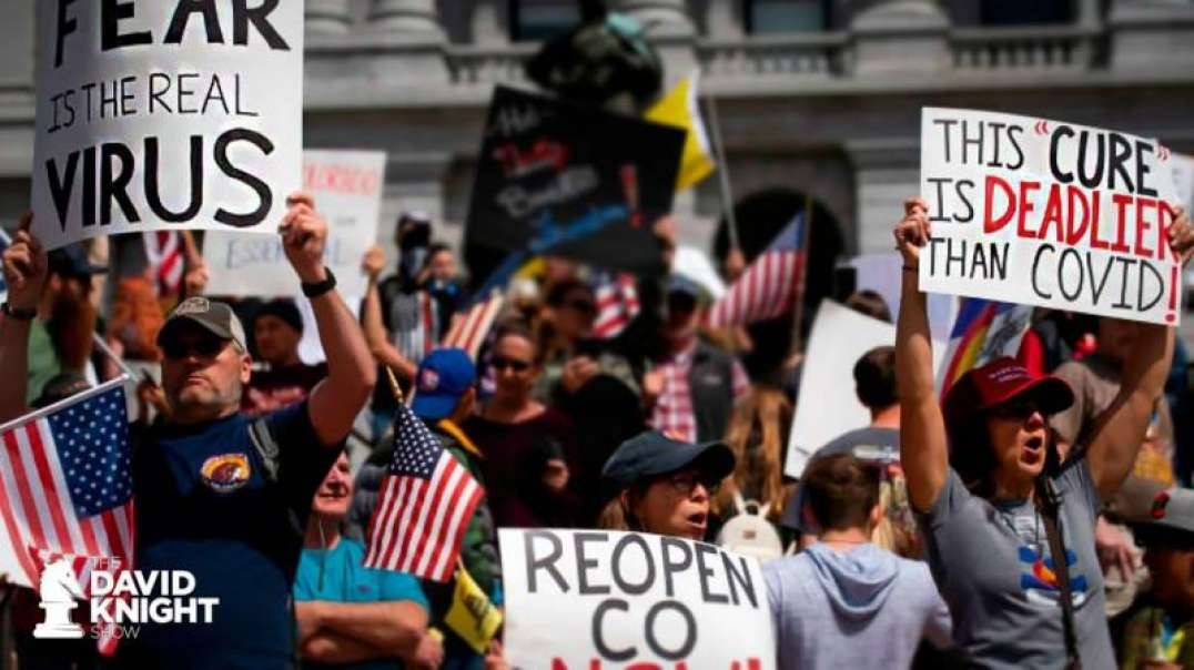 Lockdown Resistance Rises — Against REPUBLICAN Tyrants