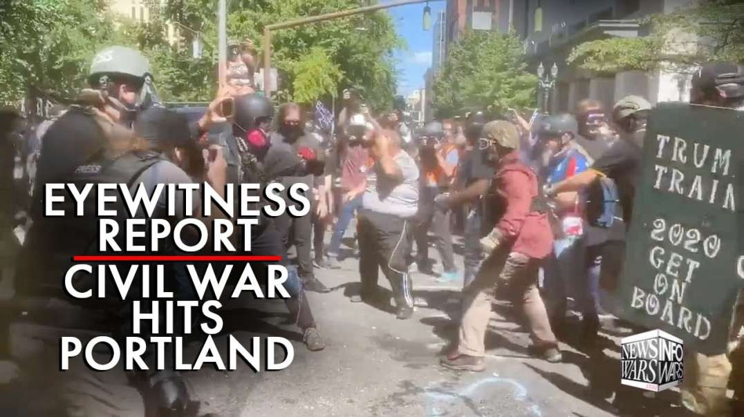 Eyewitness Report: Civil War Hits Portland