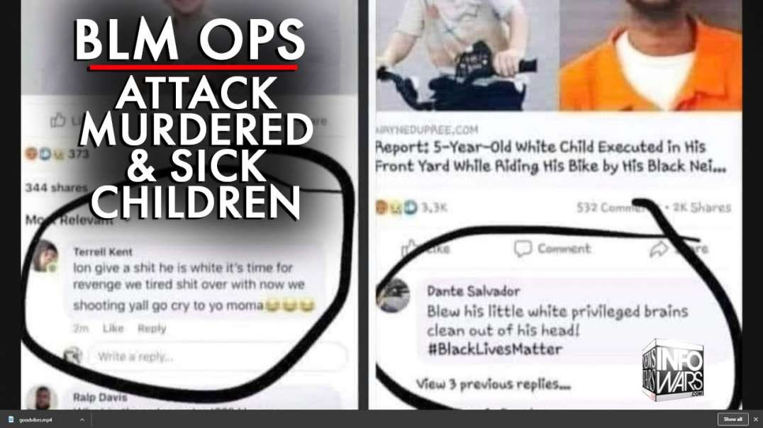BLM Ops Attack Children's Hospital, Ridicule White Murdered Child