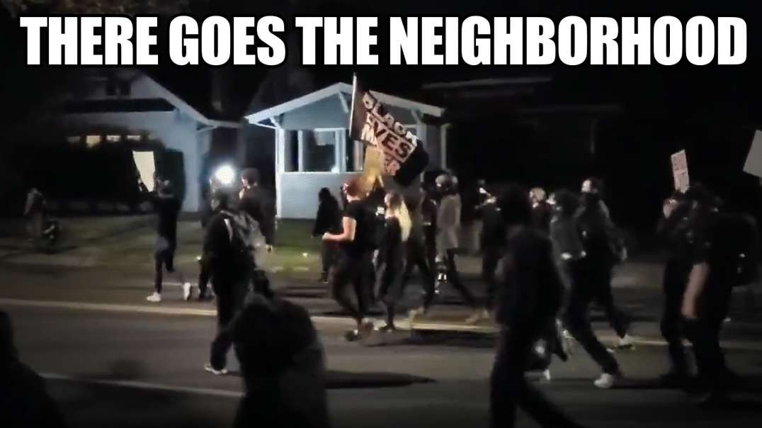 BLM Invades Seattle Neighborhood And Harasses Citizens