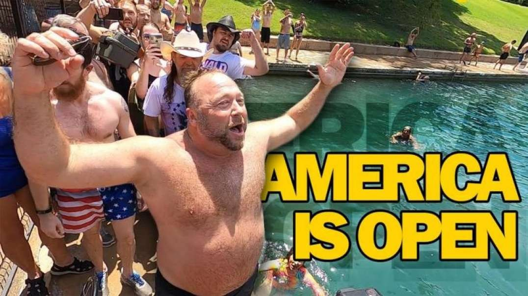 VIDEO: Angry Texans Retake Park After COVID Hoax