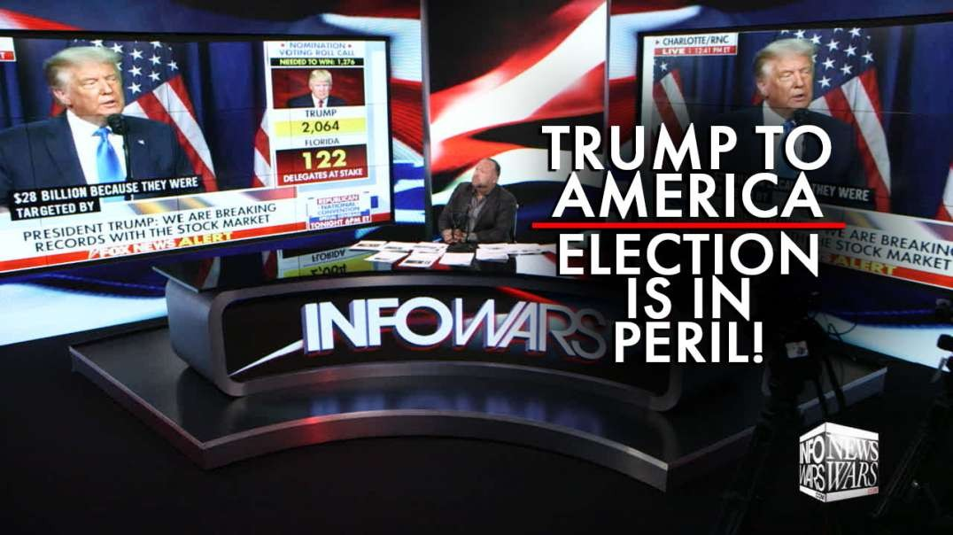 Video: Trump Issues Emergency Warning to America! The Election is in Peril!