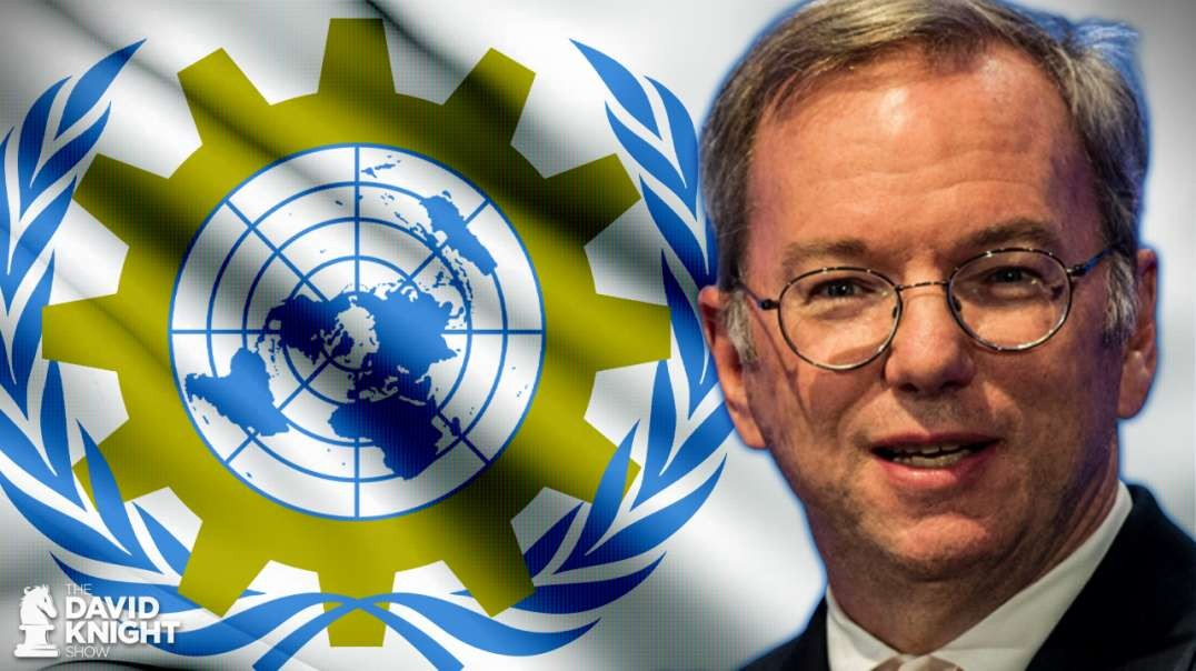 Meet Your Newest Technocrat Overlord: Eric Schmidt
